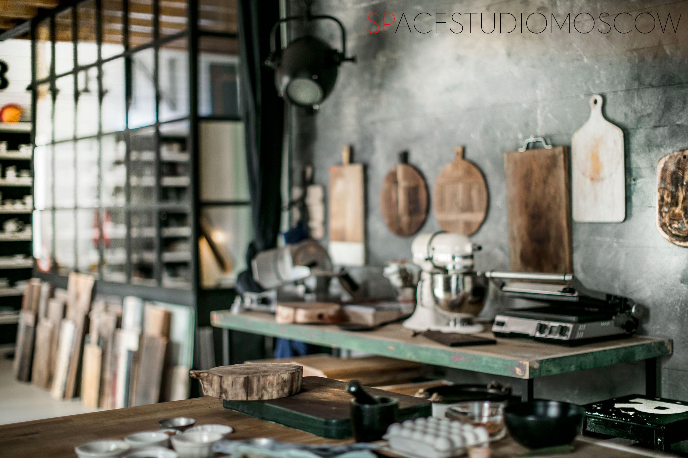Кулинарная фотостудия SPACESTUDIOMOCOW
