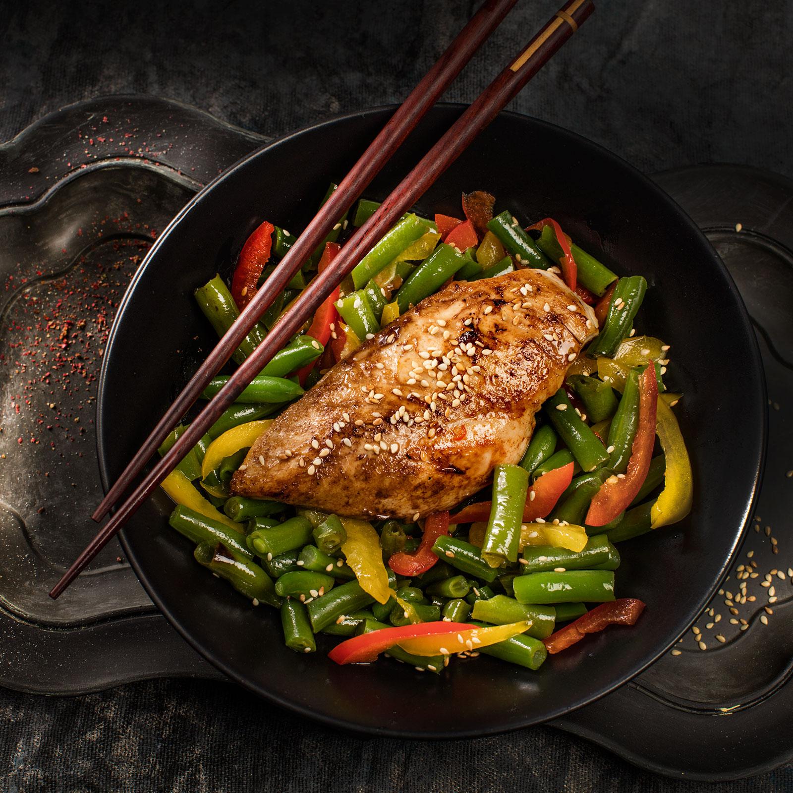 Рецепты из куриной грудки и стручковая фасоль
