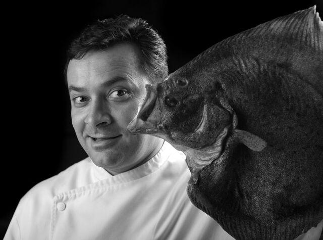 Фотосъемка портрета шеф-повара Антонио Баратто. Ресторан Сирена