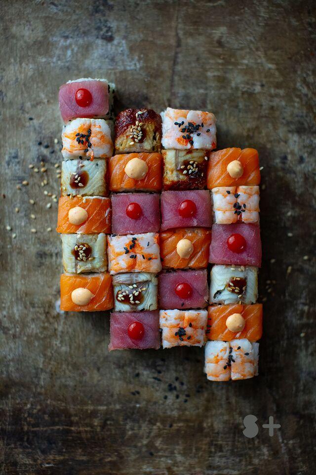 Фотосъемка суши, роллов. Фотосъемка японской кухни. Фотосъемка сетов. Фуд-стилист, фотограф Слава Поздняков.