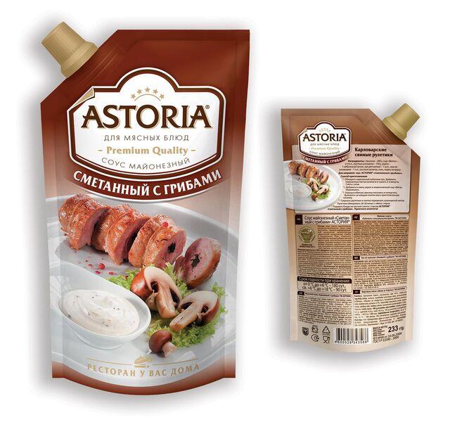 Фотосъемка соуса на упаковку. ASTORIA. Приготовление блюд, фуд-стайлинг, компоновка, фотосъемка композиции. Фуд-стилист, фотограф Слава Поздняков.