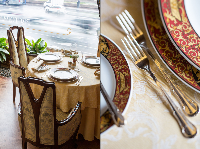 Фотосъемка интерьера для ресторана Националь. Передача атмосферы в кадре