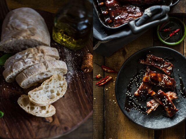 Приготовление блюд, фотосъемка для журнала «ХлебСоль»