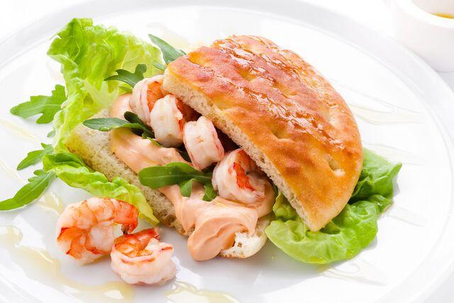 Блюда с морепродуктами для меню ресторана. Фуд-стилист и фотограф Слава Поздняков