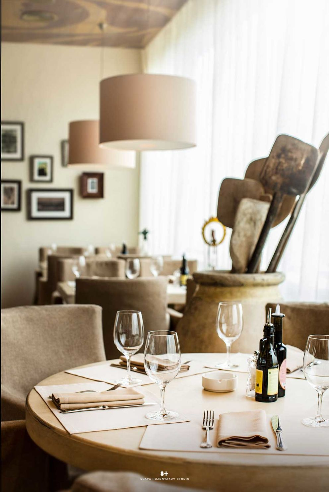 Фотосъемка интерьера ресторана Bocconcino. Фотограф Слава Поздняков.