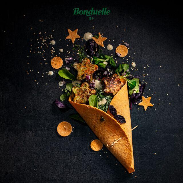 Проект Bonduelle. Приготовление, фуд-стайлинг, компоновка, фотосъемка композиций. Фотосъемка блюд. Фуд-стилист, фотограф Слава Поздняков.