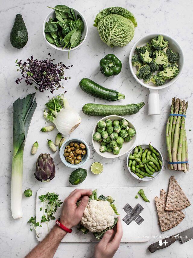 Проект Bonduelle. Фуд-стайлинг, компоновка, фотосъемка композиций. Фотосъемка овощей. Фуд-стилист, фотограф Слава Поздняков.