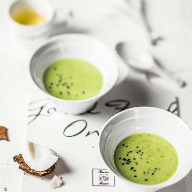 Проект Bonduelle. Приготовление, фуд-стайлинг, компоновка, фотосъемка блюд. Фотосъемка супа. Фуд-стилист, фотограф Слава Поздняков.