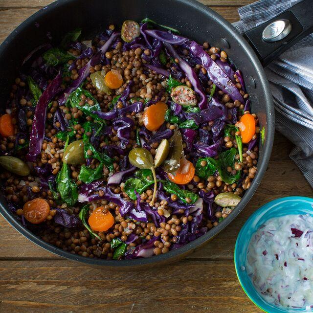 Приготовление и фотосъемка блюд по рецептам Bonduelle. Чечевица с морковью. Фуд-стилист и фотограф Слава Поздняков