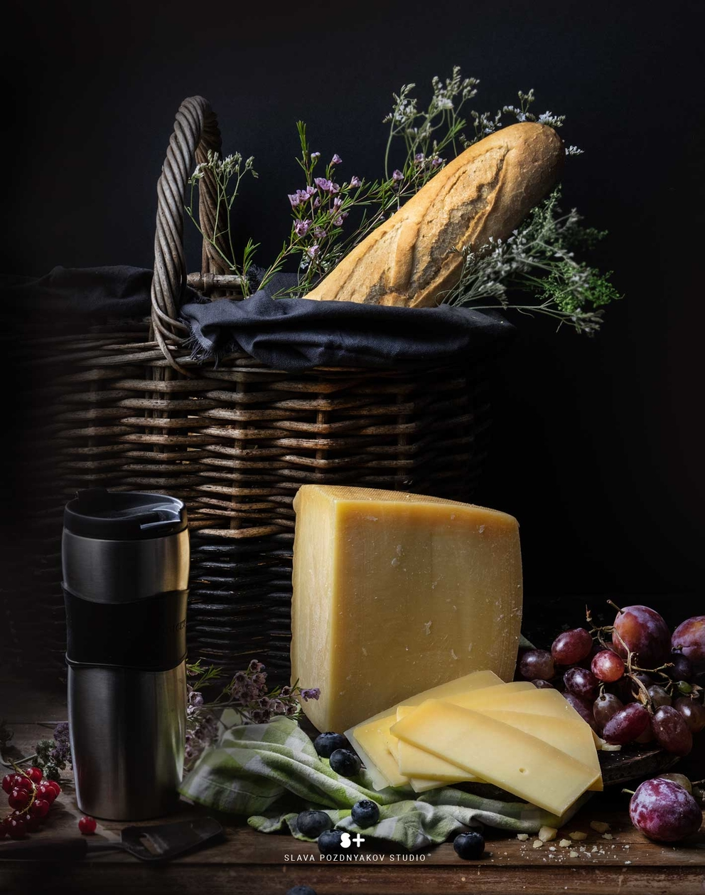 Проект Cheese Gallery. Фотосъемка сыра PARMEGRINO. Композиция сыра для Cheese Gallery. Фуд-стилист, фуд-фотограф Слава Поздняков.