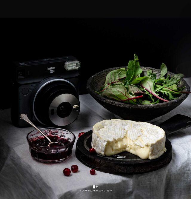 Проект Cheese Gallery. Фотосъемка сыра CAMAMBERT. Композиция сыра для Cheese Gallery. Фуд-стилист, фуд-фотограф Слава Поздняков.