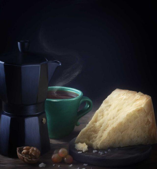 Проект Cheese Gallery. Фотосъемка сыра PARMESAN. Композиция сыра для Cheese Gallary. Фуд-стилист, фотограф Слава Поздняков.