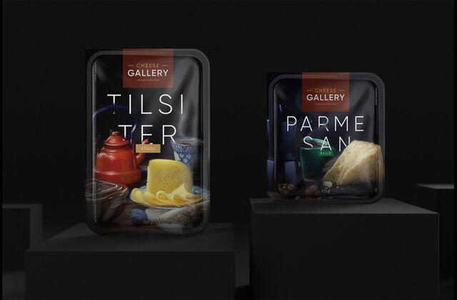 Фотосъемка сыра на упаковку Cheese Gallery. Фуд-стайлинг, компоновка, фотосъемка сыра. Фуд-стилист, фотограф Слава Поздняков.