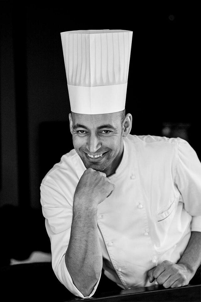 Шеф-повар Сави. Фотосъемка портрета в ресторане Аист