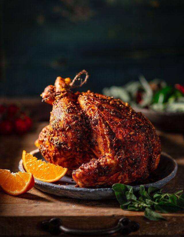 Рекламная фотосъемка. Фотосъемка курицы. Фуд-Стилист, фотограф Слава Поздняков.