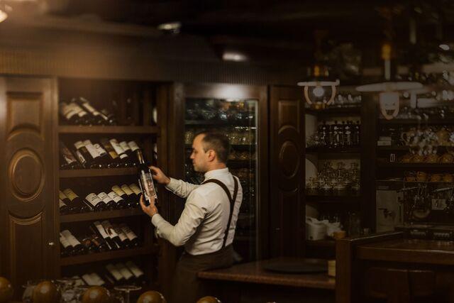 Фотосъемка интерьера ресторана El Gaucho. Фотограф Слава Поздняков.