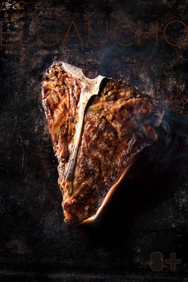 El Gaucho. Фотосъемка блюд