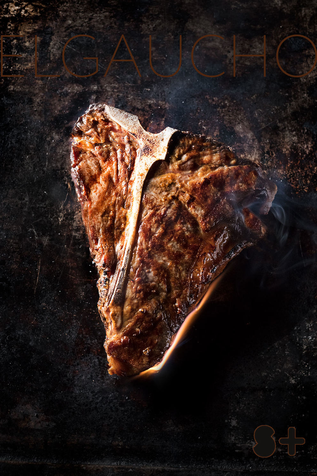 Фуд-стайлинг, компоновка, фотосъемка блюд для меню El Gaucho. Фотосъемка мяса. Фуд-стилист, фуд-фотограф Слава Поздняков.