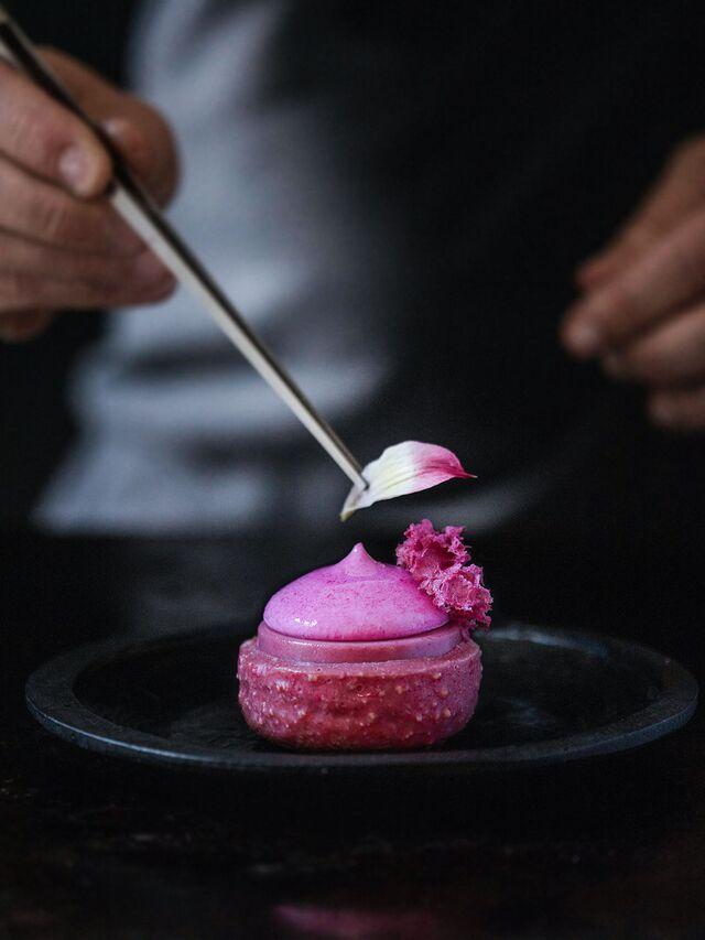 Фотосъемка десерта. Проект FOOD CODE. Фуд-стилист, фотограф Слава Поздняков.