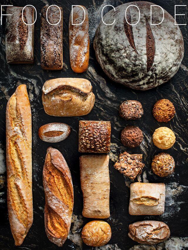 Фотосъемка композиции хлеба. Фуд-стилист, фотограф Слава Поздняков.