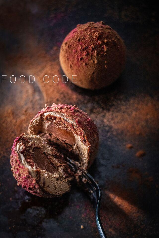 Фотосъемка шоколадных десертов. Фуд-стилист, фотограф Слава Поздняков.