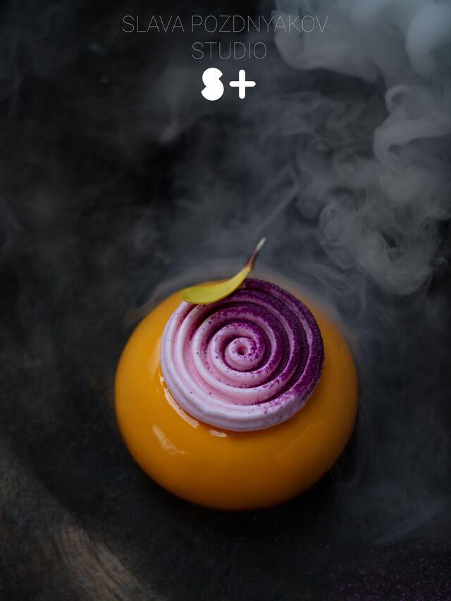 Фотосъемка десерта. Фуд-стилист, фотограф Слава Поздняков.