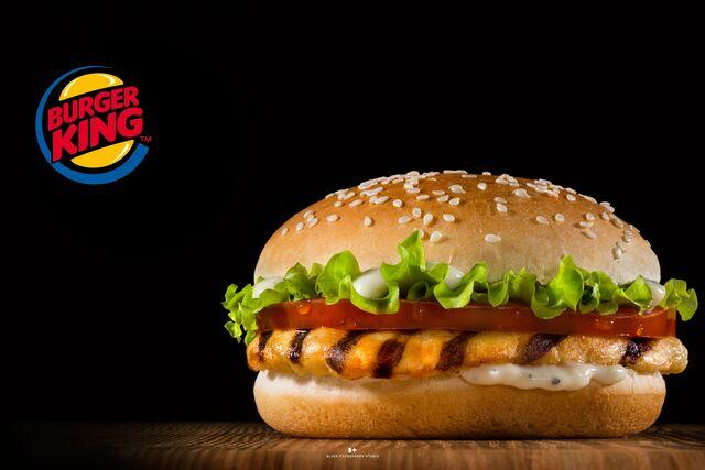 Рекламная фотосъемка бургера Burger King. Фотосъёмка бургера. Фуд-стилист, фотограф Слава Поздняков.