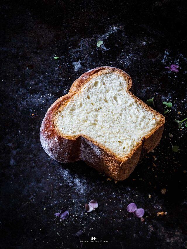 Фотосъемка хлеба. Булочка бриошь. Фуд-стилист, фотограф Слава Поздняков.