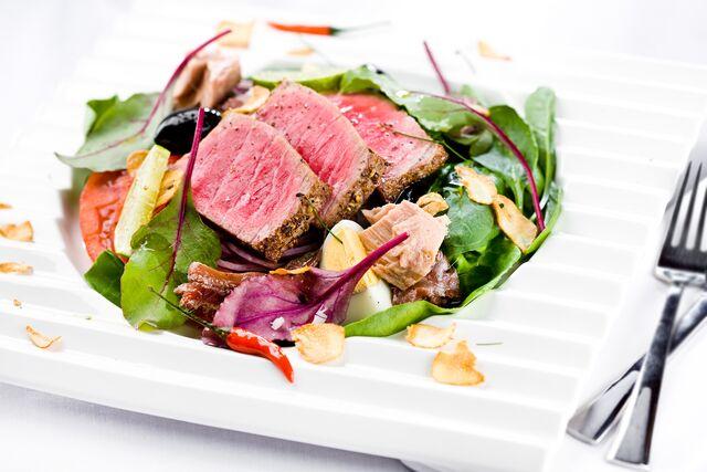 Фотосъемка блюда ресторана Дилижанс