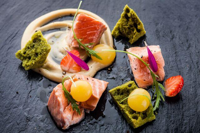 Фотосъемка еды для Grand Cru Bar. Фуд фотограф Слава Поздняков