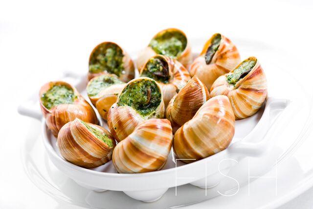 Фотосъемка блюд с морепродуктами для меню ресторанов, кафе, баров