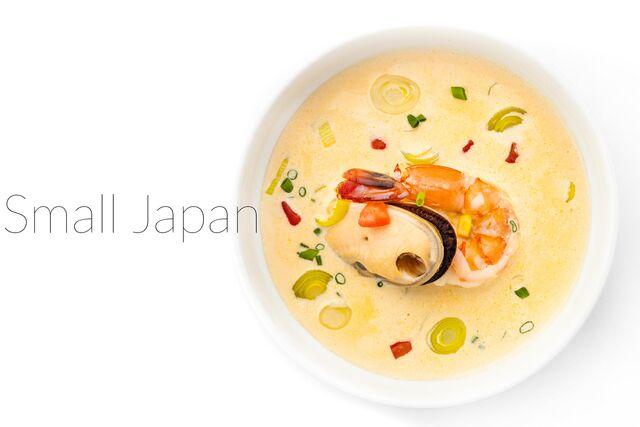 Фотосъемка супа для меню ресторана Маленькая Япония