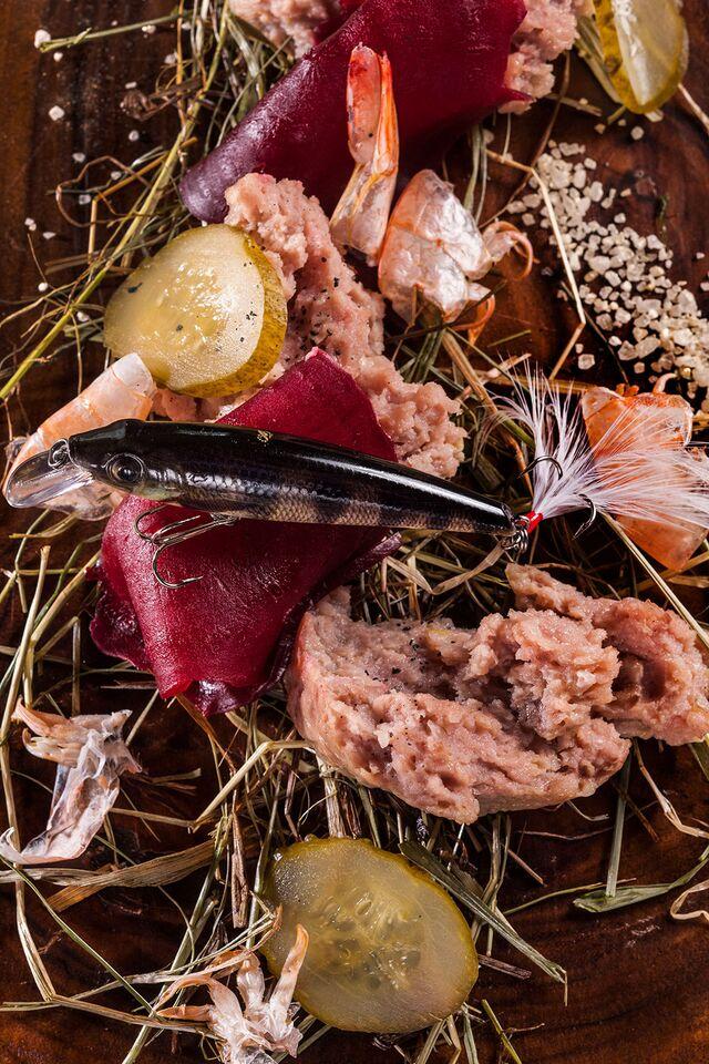 Фотосъемка блюд с морепродуктами. Ресторан «Чайка». Фуд-стилист и фотограф Слава Поздняков