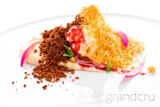Фотосъемка блюд для меню ресторана Grand Cru Bar