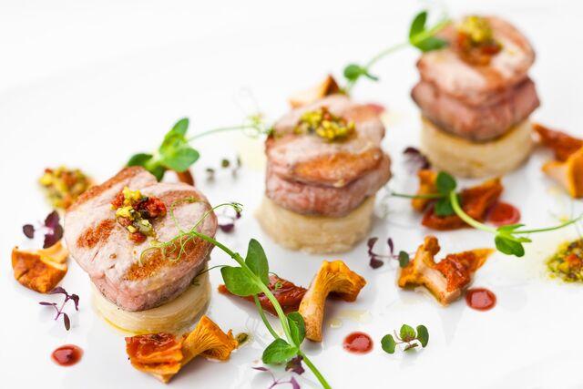 Фотосъемка блюд для ресторана Баскервиль