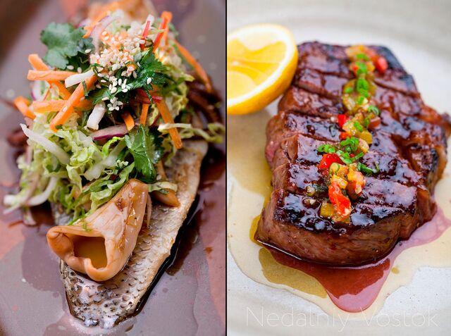 Фотосъемка блюд для меню ресторана Недальный Восток