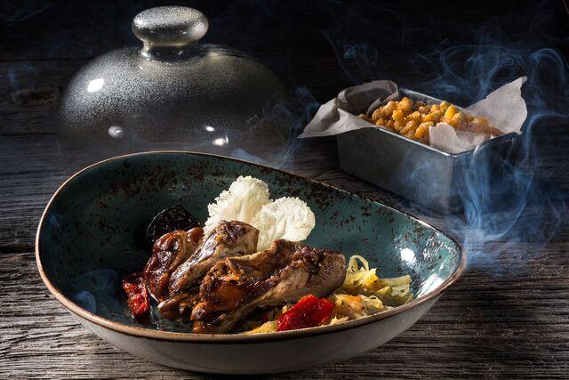 Фотосъемка композиций блюд, разработка подачи блюд для ресторана Шинок