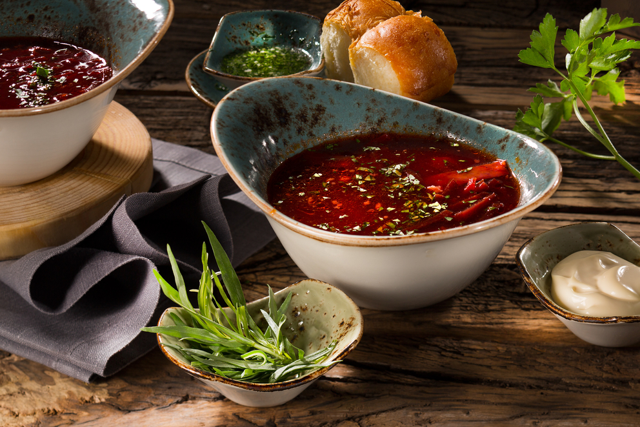 Фотосъемка супа для ресторана Шинок. Фотограф и Фуд-стилист блюд Слава Поздняков | SLAVA POZDNYAKOV