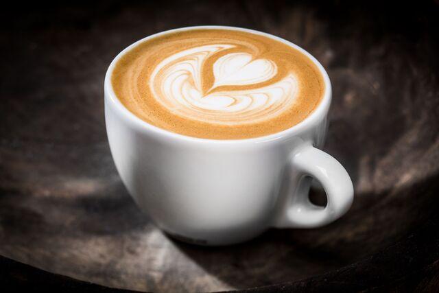 Фотосъемка кофе капучино для меню ресторанов и кафе