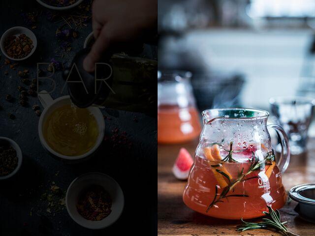 Фотосъемка напитков, чая для Traveler's Сoffee. Фуд-стилист и фотограф Слава Поздняков