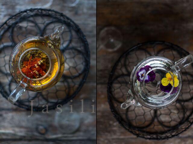Рекламная фотосъемка чая