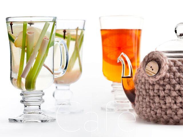 Фотосъемка имбирно-лимонного чая. Фотограф и фуд-стилист Слава Поздняков