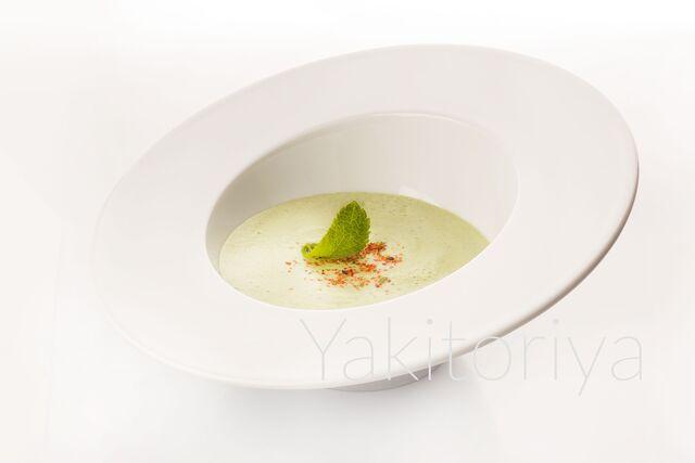 Фотосъемка крем-супа для ресторана Якитория