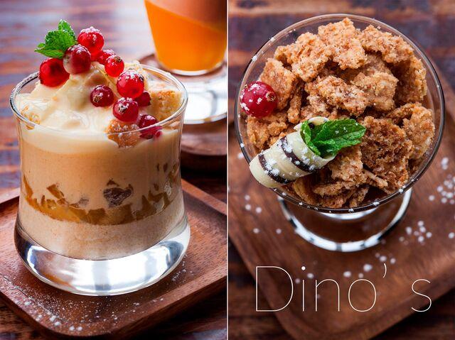 Разработка подачи блюд, десертов, фотосъемка десертов для меню ресторана