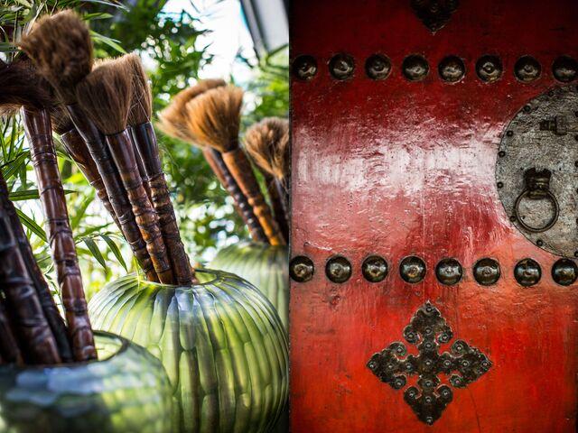 Фотосъемка деталей ресторана Новиков