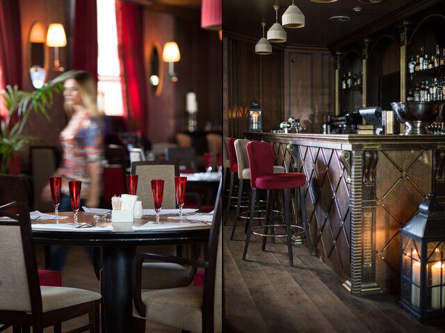 Ресторан Гарибальди. Фотосъемка интерьера бара. Фотограф Слава Поздняков.