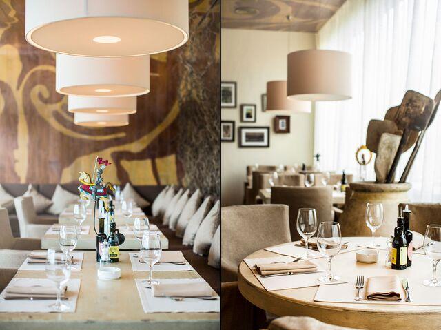 Фотосъемка интерьера ресторана Bocconcino. Сервировка.
