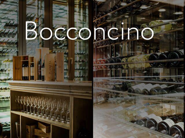 Фотосъемка интерьера ресторана Bocconcino.
