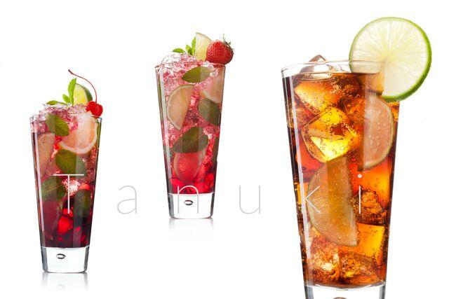 Фотосъемка освежающих напитков для ресторана Тануки