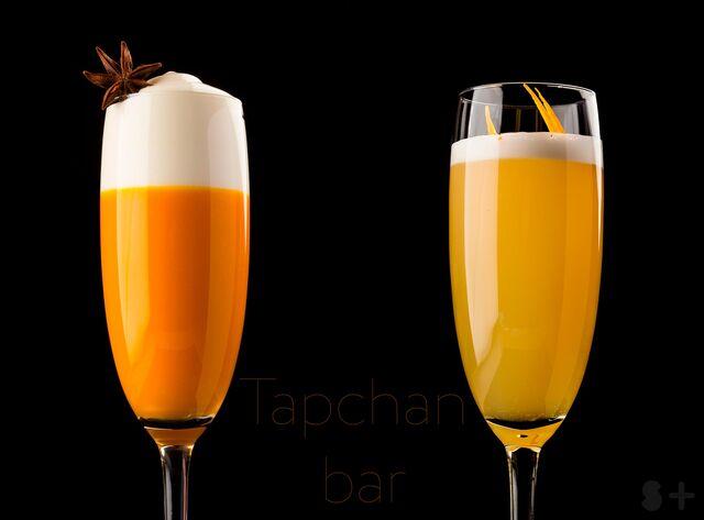 Фотосъемка коктейлей для ресторана ТАПЧАН